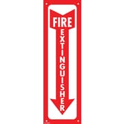 "Cosco® Fire Extinguisher - Glow in the Dark Sign, 13"" x 4"""