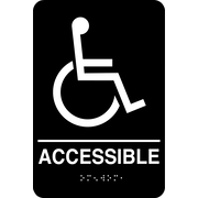 Marking Products, Inc., ADA Restroom Signs, Accessible Sign