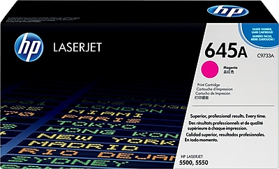 HP 645A Magenta Toner Cartridge (C9733A)