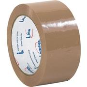 """Staples® Intertape® 130 Carton Sealing Tape, Tan, 2"""" x 110 yds., 36/Case"""