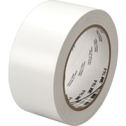 "3M™ 764 Vinyl Tape, 1"" x 36 yds, White, 36/Case"