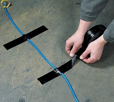 Staples Industrial Gaffers Tape, Black, 3