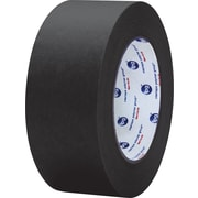 "Intertape® PF3 Black Masking Tape, 2"" x 60 yds., 24/Case"