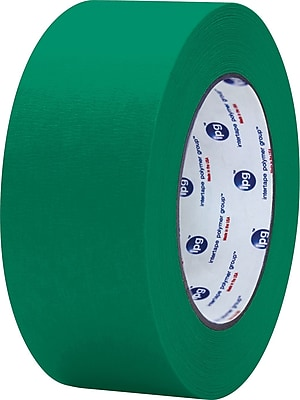 "Intertape® PF3 Dark Green Masking Tape 1"" x 60 yds., 36/Case"