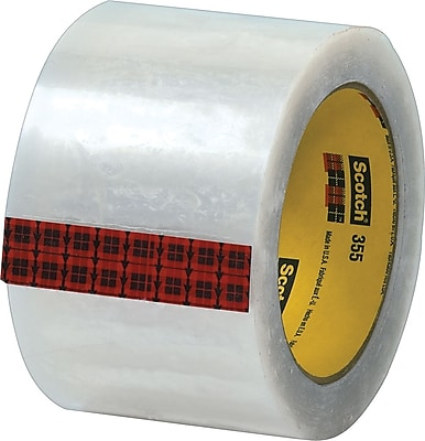 Scotch® #355 Hot Melt Packing Tape, 3