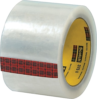 Scotch® #375 Hot Melt Packaging Tape, 3