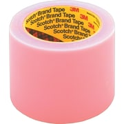 "Scotch® #821 Label Guard Film Tape, 5"" x 72 yds., 8/Pack"
