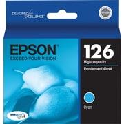 Epson® – Cartouche d'encre cyan 126, haut rendement (T126220)