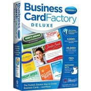 Business Card Factory Deluxe 4.0 [Boxed]
