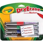 Crayola® DryErase Marker, Chisel Tip, Assorted