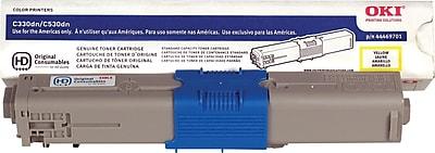 Okidata Yellow Toner Cartridge (44469701)