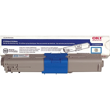 Okidata Cyan Toner Cartridge (44469703)