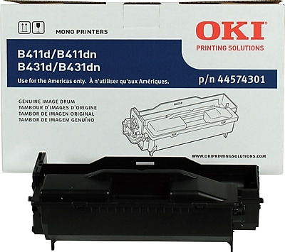 OKI® 44574301 Laser Drum Cartridge, Black
