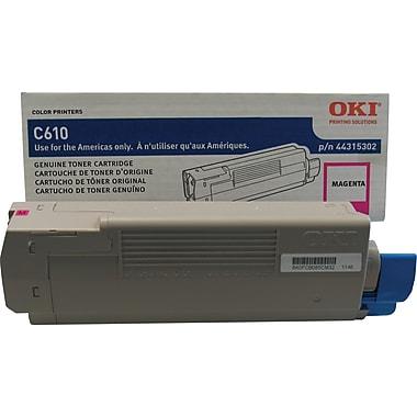 Okidata Magenta Toner Cartridge (44315302)
