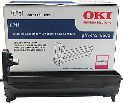 OKI® 44318502 Laser Drum Cartridge, Magenta