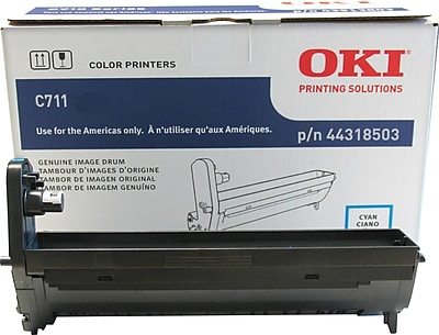 Okidata Cyan Drum Cartridge (44318503)