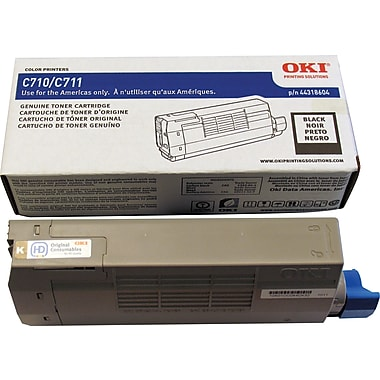 Okidata Black Toner Cartridge (44318604)