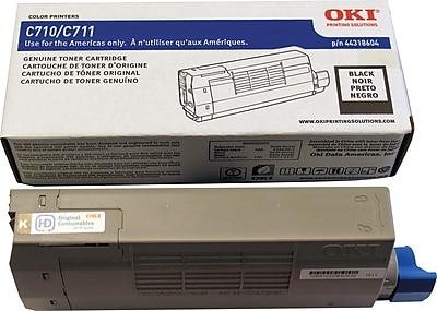 Okidata Black Toner Cartridge (44318604)