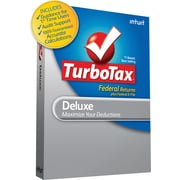 TurboTax Deluxe Federal with E-File 2010