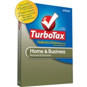 TurboTax Home & Business Fed + Efile + State 2010