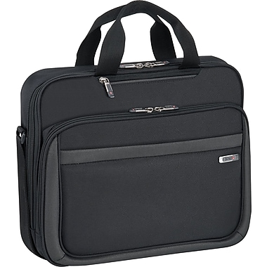 Solo Pro Black Polyester Laptop Slim Brief (CLA103-4)
