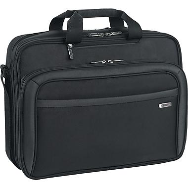 Solo Pro CheckFast Black Polyester Laptop Briefcase (CLA314-4)