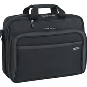 Solo Pro CheckFast Black Polyester Laptop Briefcase (CLA314-4)
