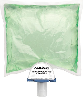 enMotion® Antimicrobial Foam Soap Dispenser Refill by GP PRO, Tranquil Aloe®, 1200 mL/Refills, 2 Refills/Case (42816)