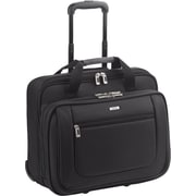 Solo Black Polyester Classic Rolling Laptop Case (PT136-4)