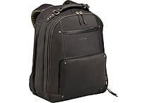 Solo Executive Leather Laptop Backpack, Espresso (VTA701-3)