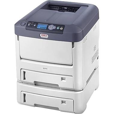 Okidata® C711dtn Digital Color Printer