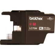 Brother Genuine LC75M Magenta High Yield Original Ink Cartridge