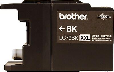Brother Genuine LC79BK Black Super High Yield Original Ink Cartridge