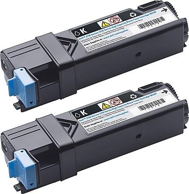 Dell 899WG Black Toner Cartridge (84R1W), High Yield, 2/Pack (899WG)