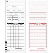 "Lathem Time Cards for 7000E and 7500E Time Clocks, 8.78""H x 3.38""W"