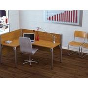 Bestar – Poste de travail simple, bureau en L à gauche, du système de bureau