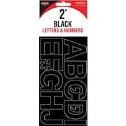 """Cosco® 098139 Vinyl Letter C&N, 2"""", Helvetica, Black"""
