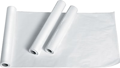 Medline Deluxe Smooth Exam Table Paper, White, 18