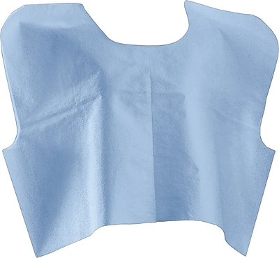 Medline® Disposable Patient Capes, Blue, 30