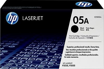 HP 05A Black Toner Cartridge (CE505A)