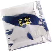 "Reclosable Static Shielding Bags, 6"" x 8"", 100/Case"
