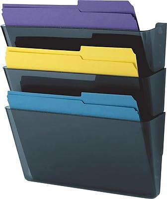 Staples 3Pocket Wall File LetterSizeStaples