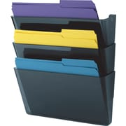 Staples® 3-Pocket Wall File, Letter-Size