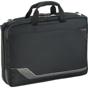 SOLO® Vector Collection CheckFast™ Laptop Clamshell, Black, 17""
