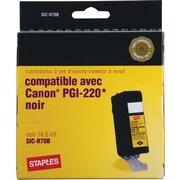 Staples® – Cartouche d'encre noire remise à neuf, Canon PGI-220 (SIC-R70B)