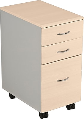 Balt® iFlex Modular Desking 4-Drawer Lateral File Cabinet, Teak, Letter/Legal (90061)