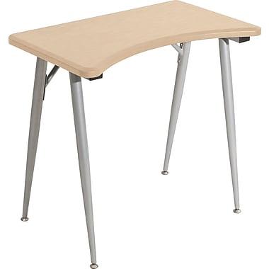 Balt iFlex 31'' Specialty Training Table, Teak/Silver (90053)