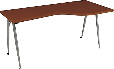 Balt® iFlex Modular Desking, Full Table, Right, Cherry