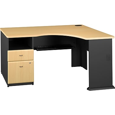 Bush Business Cubix Single Pedestal Corner Desks