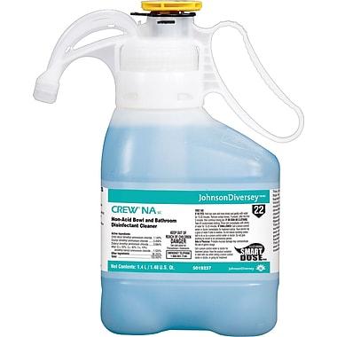 Diversey Crew® NA SC Non-Acid Bowl and Bathroom Disinfectant Cleaner, SmartDose™ 1.4 liter